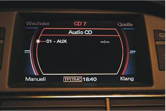 Audi MMI 2G AUX IN retrofit