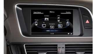N6 - A5, Audi GPS, Navigation, Bluetooth, iPod, DVD, USB