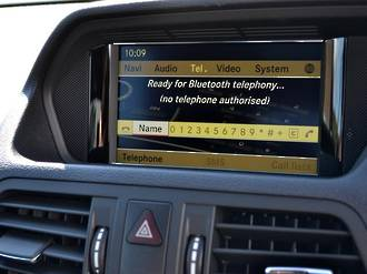 Mercedes GPS Navigation UK import NTG4.5/4.7