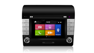 N7 - DC, Fiat GPS, Navigation, Bluetooth, iPod, DVD, USB