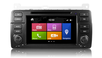 N6 - E46, BMW GPS, Navigation, Bluetooth, iPod, DVD, USB