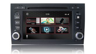 N7 - A4, Audi GPS, Navigation, Bluetooth, iPod, DVD, USB