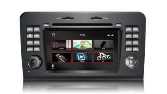 N7 - MBML, Mercedes GPS, Navigation, Bluetooth, iPod, DVD, USB