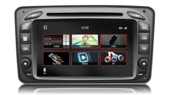 N7 - MC2000, Mercedes GPS, Navigation, Bluetooth, iPod, DVD, USB