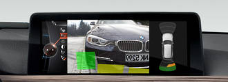 BMW rear view camera retrofit for F Chassis CIC