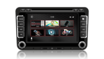 "N7 - V7 VW series 7"" Touch Screen LCD Multimedia Navigation System"