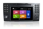 N6 - SLK, Mercedes GPS, Navigation, Bluetooth, iPod, DVD, USB